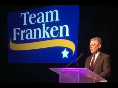 Sen. Al Franken's Farewell To Supporters In Minnesota - Full Speech