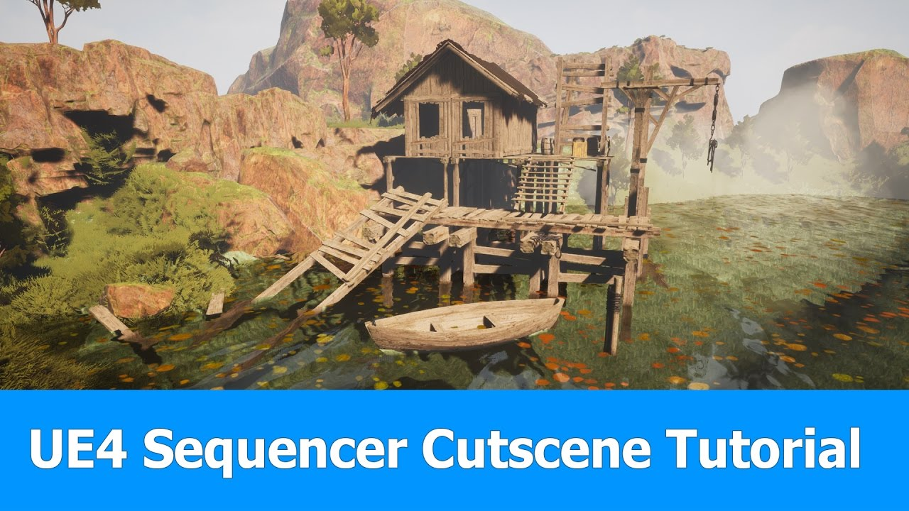 Unreal Engine (UE4) Sequencer Tutorial : Cutscene with Animation