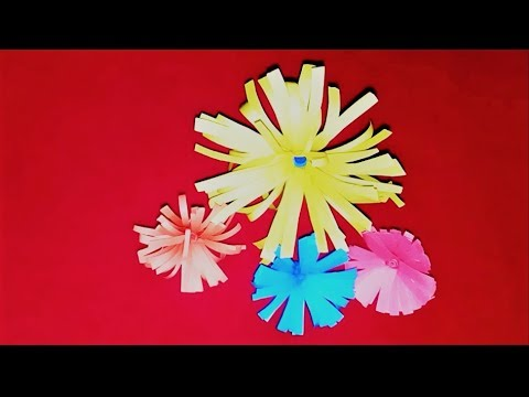 How to make small easy paper flowers diy origami flower how to make small easy paper flowers diy origami flower tutorial for beginners mightylinksfo