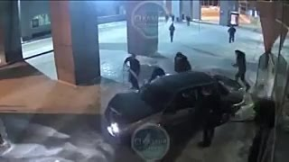 Погоня в стиле GTA. По аэропорту в Казани и задержание лихача...