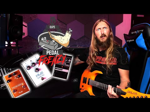 PEDAL FRENZY - DOD Deathmetal, MLC Vanilla Sky, Fender Tube Tremolo
