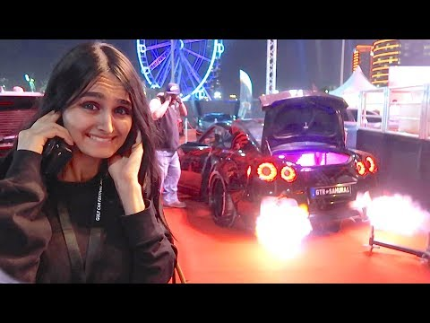 Download Youtube: DUBAI'S CRAZIEST CARS *FLAME THROWER* !!!