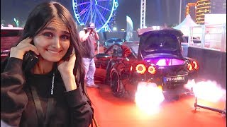 dubai s craziest cars flame thrower