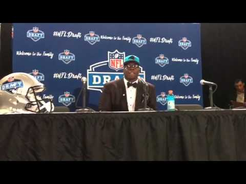 Vernon Butler Carolina Panthers NFL Draft 1st Round Pick Interview #NFLDraft