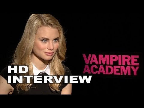 Vampire Academy: Lucy Fry Official Movie Interview