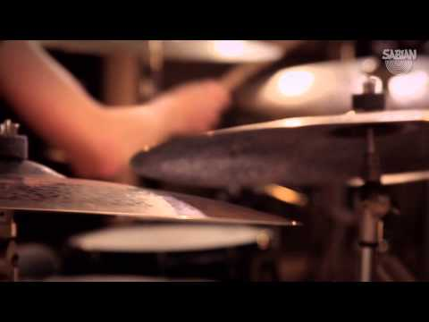 Moritz Mueller plays the new Big & Ugly Collection from SABIAN