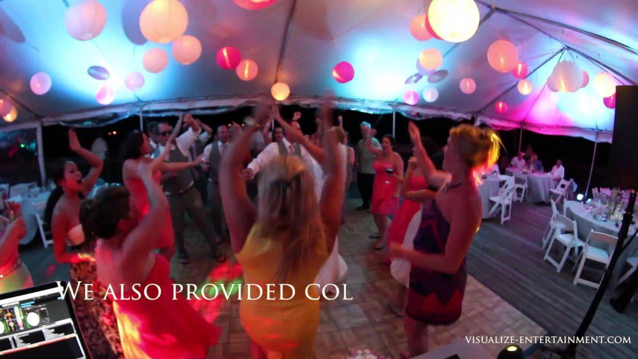 Julie Steves Wedding Reception Sunset Pier Ocean Key Resort