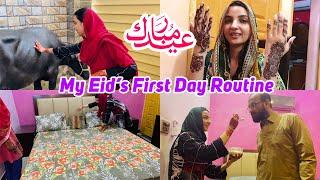 Eid Mubarak, How I Celebrate? I Recorded My First Day Routine
