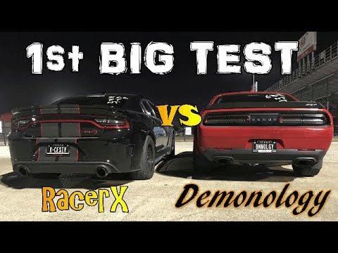 Demonology's Biggest Test Yet - Modded Demon VS. Modded Hellcat