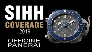 """SIHH 2019: Panerai """"Mike Horn"""" and """"Luna Rossa"""" Luminor Submersible, the Carbotech Twins, and More!"""