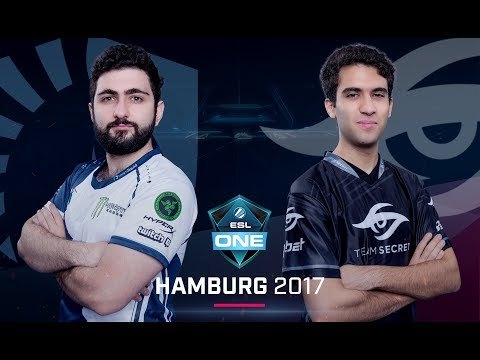 Team Liquid vs. Team Secret - ESL One Hamburg 2017 G3