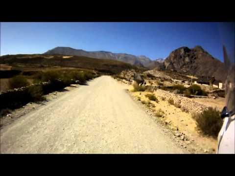 Motorcycle Crash in Peru.wmv