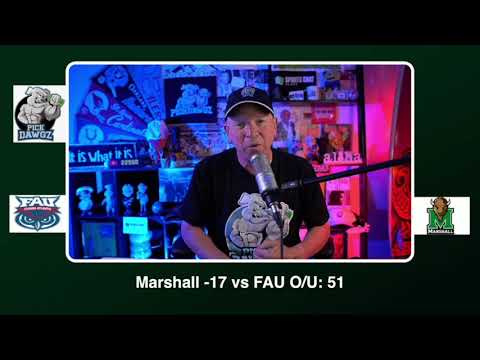 Marshall vs FAU Free College Football Picks and Predictions CFB Tips Saturday 10/24/20