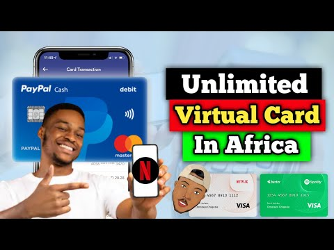 How To Create A USD Virtual Card In Africa/Anywhere Around The World 2021