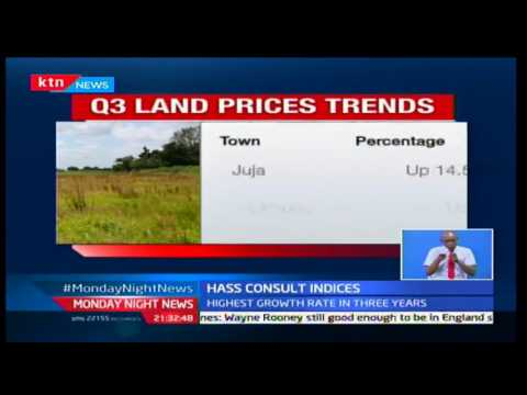 Monday Night News: Land prices up in 7% in satellite areas 10/10/2016