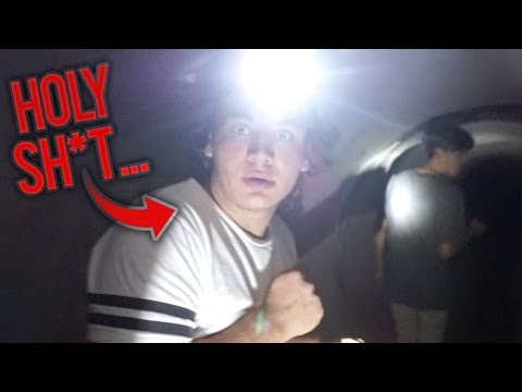 Exploring Underground Tunnel To Hell (OMFG)