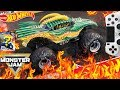 MONSTER JAM VIDEO GAME with HOT WHEELS LIMITED EDITION MONSTER TRUCK