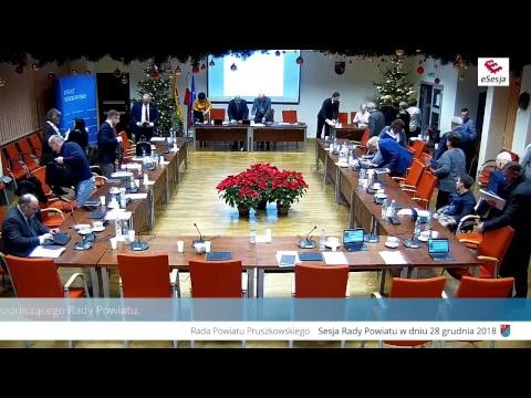 Sesja Rady Powiatu Pruszkowskiego – transmisja na żywo