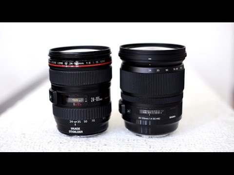 Sigma vs. Canon! Sigma 24-105mm f/4 'Art' lens review and comparison