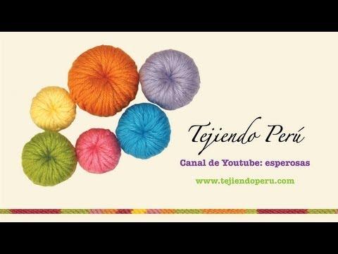 Botones tejidos en crochet - Tejiendo Perú