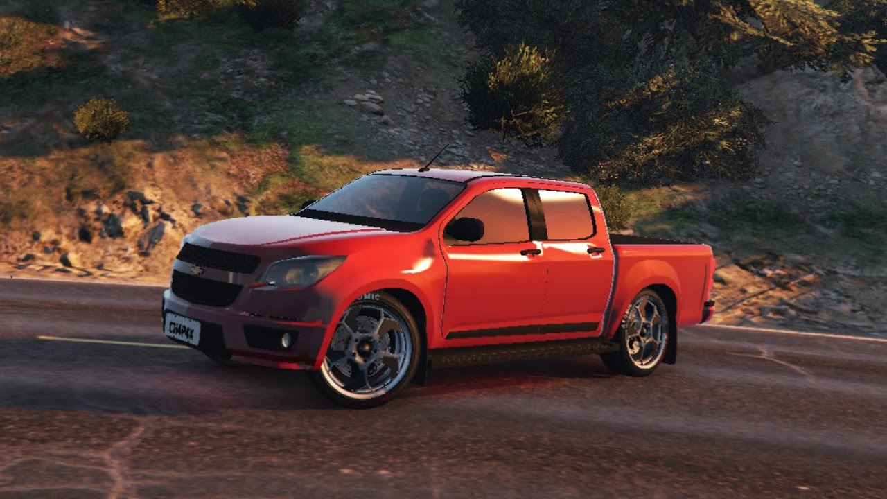 All Chevy 2015 chevrolet s10 : GTA V | PC - MOD: Chevrolet S10 2015 - YouTube