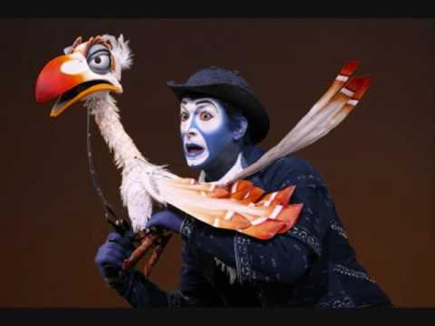 The Lion King Broadway-The Morning Report - YouTube Lion King Broadway Zazu