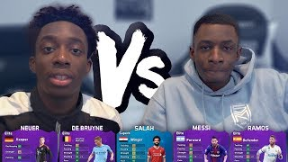 MANNY VS TOBI! THE ULTIMATE 5 A SIDE GAME!!!