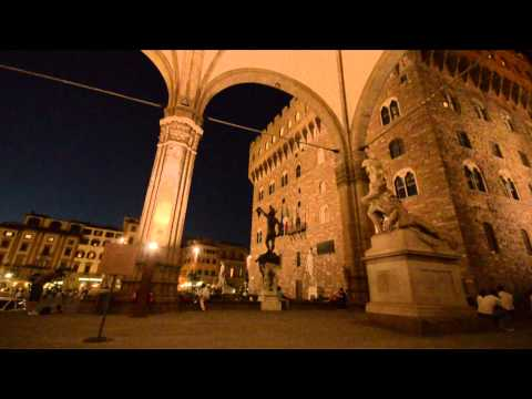 Video preview image for Street musician, Florence, Italy