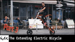 Making an extending bicycle #3