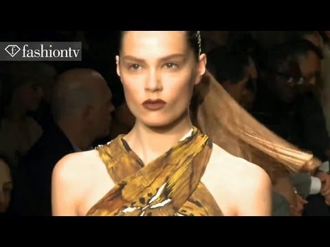 Donna Karan Runway Show - New York Fashion Week Spring 2012 NYFW | FashionTV - FTV Travel Video