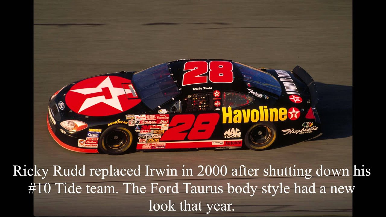 History of the Havoline car in NASCAR - YouTube