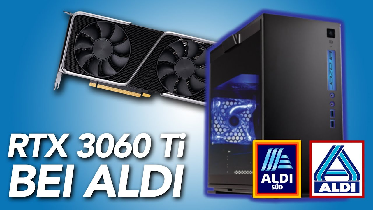 BILLIGER geht's nicht! - ALDI Gaming-PC Erazer Engineer P10 mit RTX 3060 Ti