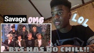 Bts in america in a nutshell (CRACK) Reaction