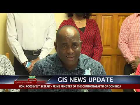 GIS News Update - PM Skerrit call on Dominicans to Support Local Products