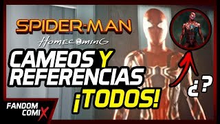 Spiderman Homecoming: Todos los Easter Eggs y Referencias ¡CON SPOILERS!