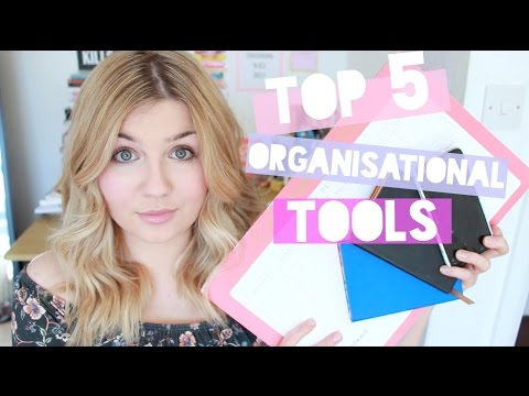 Top 5 Organisational Tools | Stationery & Apps