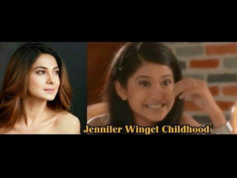 Jennifer Winget Childhood photo Collection. - YouTube