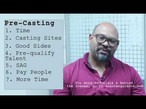 How to Cast a Low Budget Indie Film: Pre-Casting