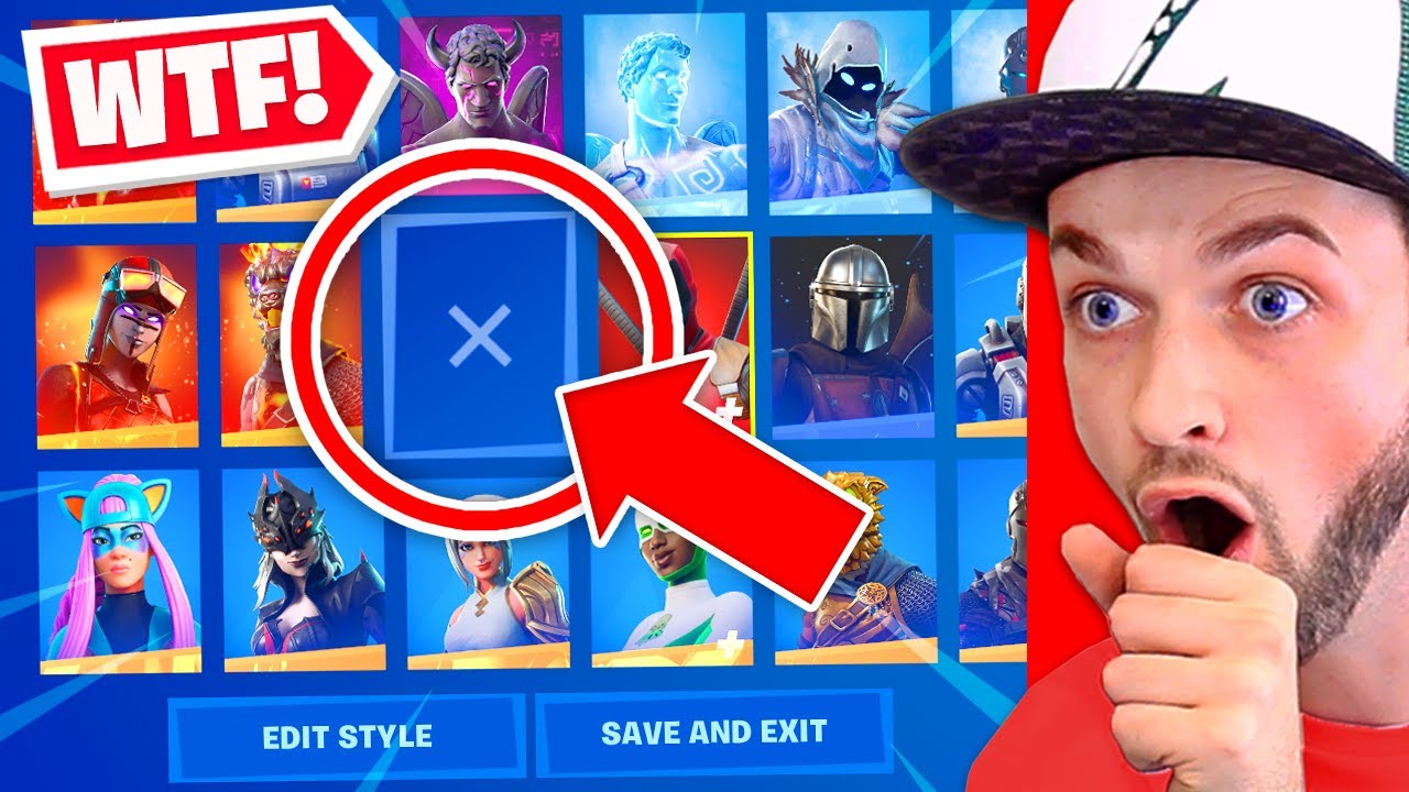 Fortnite's *BROKE* This Skin!