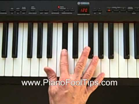 Online Piano Lessons Finding Db D Flat Chord Youtube
