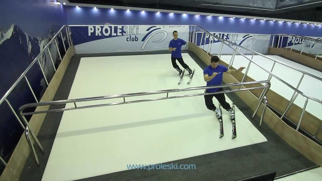 Лыжный тренажер своими руками