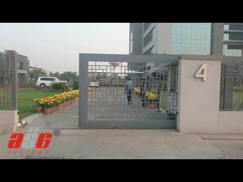 Automatic Sliding Gate by ASGSYSTEMS at DHA Head Office Gate 4, Lahore