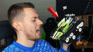 LEGO TECHNIK - Ferngesteuerter Tracked Racer im Aufbau und Test mit ALEKS!