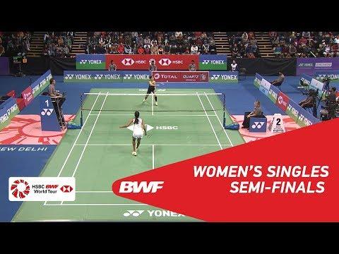 WS | PUSARLA V. Sindhu (IND) [1] vs Ratchanok INTANON (THA) [3] | BWF 2018