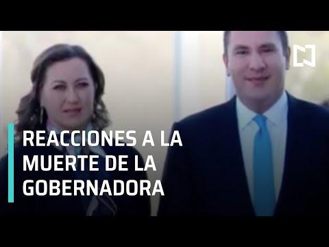 Reacciones a la muerte de la gobernadora de Puebla, Martha Erika Alonso - Las Noticias