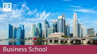 A day in the life: foreign business students in Singapore