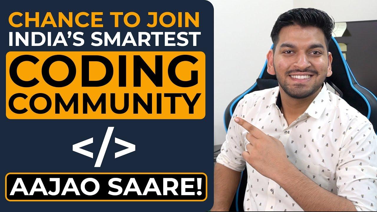 Beginning of India's Smartest Coding Community