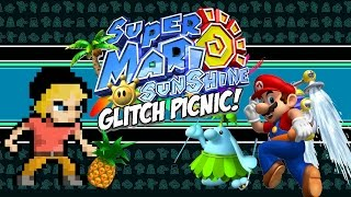 Super Mario Sunshine Glitch Picnic | Super Mario Sunshine Glitches | MikeyTaylorGaming