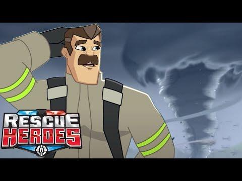 Rescue Heroes™ - Tornado Alley! | Episode 8 | Videos For Kids | Kids Heroes