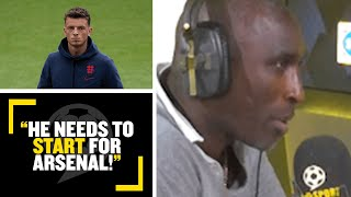 """""""HE NEEDS TO START FOR ARSENAL!""""? Sol Campbell discusses the £50m transfer of Ben White to Arsenal"""
